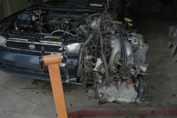 50. Rent an engine stand and read the proper safety procedures for operation.