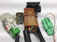 Relays - (Fuel Pump, Ignition), OBD2, Test Connector