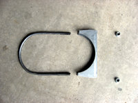 The KEP supplied Muffler bracket mounting hardware.