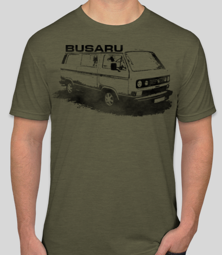 BUSARU T-Shirt - SHIPS IN EARLY OCTOBER